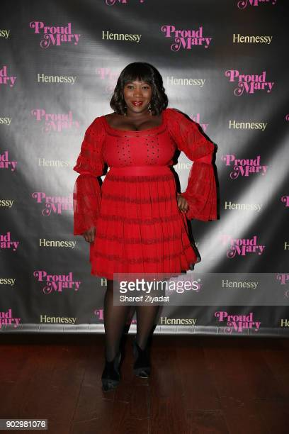 Bevy Smith attends Hennessy VSOP Privilege's Taraji P Henson Dinner at Zuma on January 8 2018 in New York City