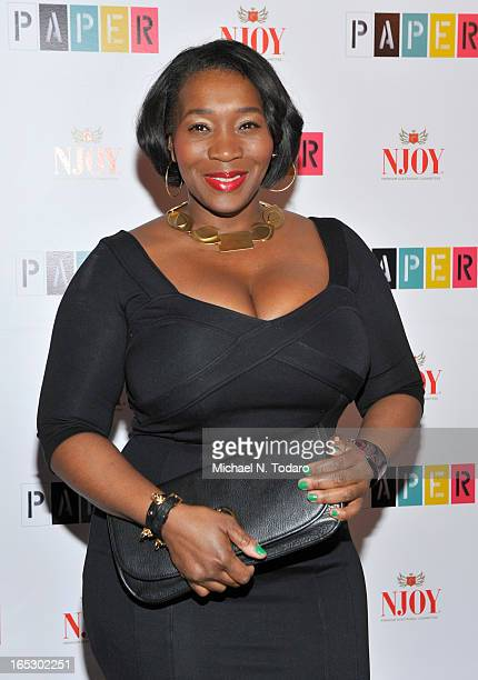Bevy Smith attends Paper Magazine's 16th Annual Beautiful People Party at Top of The Standard Hotel on April 2 2013 in New York City