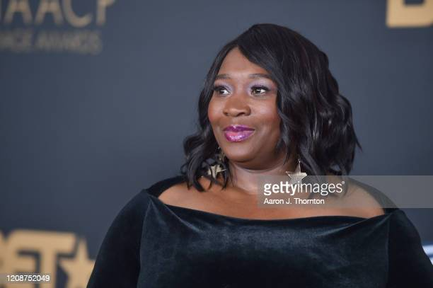 Bevy Smith attends the 51st NAACP Image Awards at the Pasadena Civic Auditorium on February 22 2020 in Pasadena California