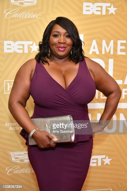 Bevy Smith attends the American Black Film Festival Honors Awards Ceremony at The Beverly Hilton Hotel on February 23 2020 in Beverly Hills California