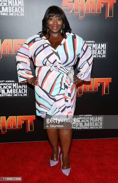 Bevy Smith attends the premiere of Shaft during the 23rd Annual American Black Film Festival on June 12 2019 in Miami Florida