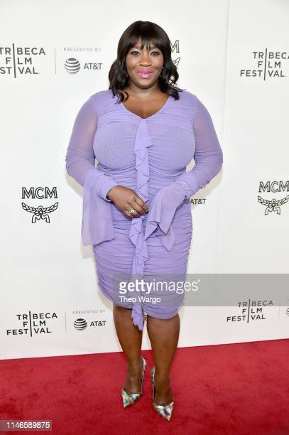 Bevy Smith attends the premiere of The Remix Hip Hop x Fashion at Tribeca Film Festival at Spring Studios on May 02 2019 in New York City