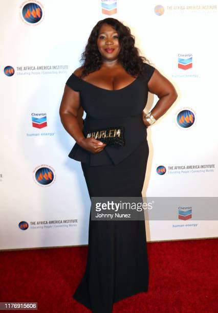 Bevy Smith attends The The Africa America Institute 35th Annual Awards Gala 2019 at American Museum of Natural History on September 24 2019 in New...