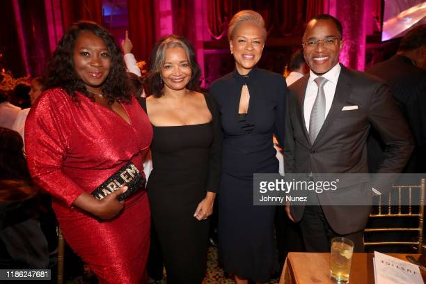 Bevy Smith Jonelle Procope Tonya Lewis Lee and Jonathan Capehart attend the NAACP LDF 33rd National Equal Justice Awards Dinner at Cipriani 42nd...