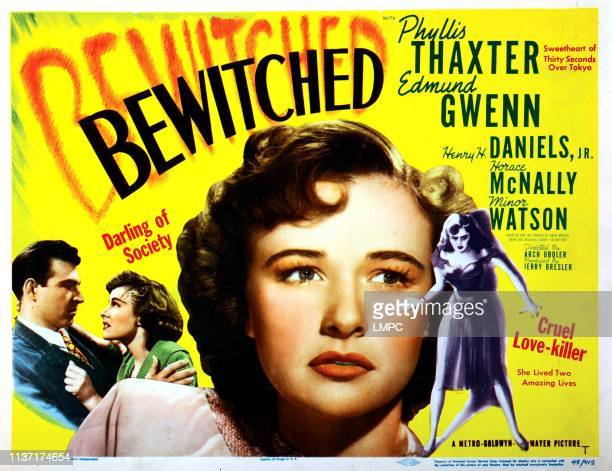 Bewitched poster Phyllis Thaxter Stephen McNally 1945