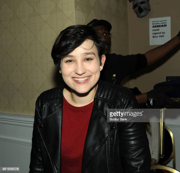 Bex Taylor Klaus attends the 2017 Monster Mania Con at NJ Crowne Plaza Hotel on March 10 2017 in Cherry Hill New Jersey