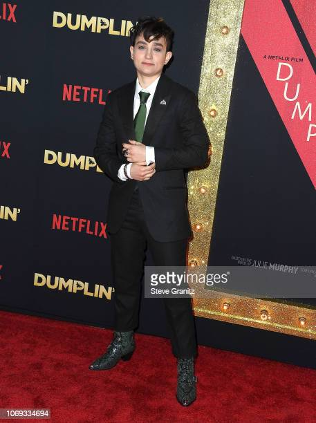 Bex TaylorKlaus arrives at the Premiere Of Netflix's Dumplin' at TCL Chinese 6 Theatres on December 6 2018 in Hollywood California