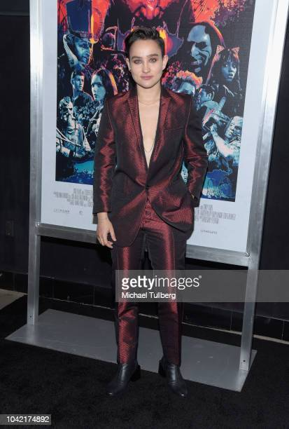 Bex TaylorKlaus attends a special screening of CBS Films and Lionsgate's Hell Fest at TCL Chinese 6 Theatres on September 27 2018 in Hollywood...