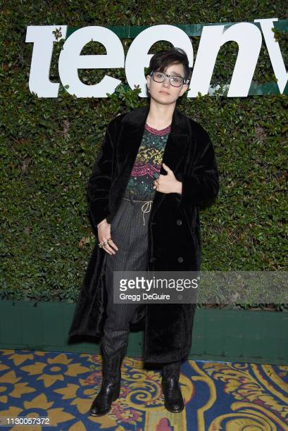 Bex TaylorKlaus attends Teen Vogue's Young Hollywood Party Presented By Snap at Los Angeles Theatre on February 15 2019 in Los Angeles California