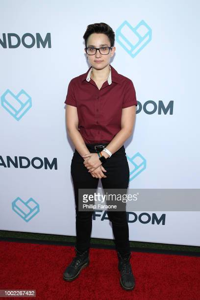 Bex TaylorKlaus attends the Fandom Party during ComicCon International 2018 at Float at Hard Rock Hotel San Diego on July 19 2018 in San Diego...