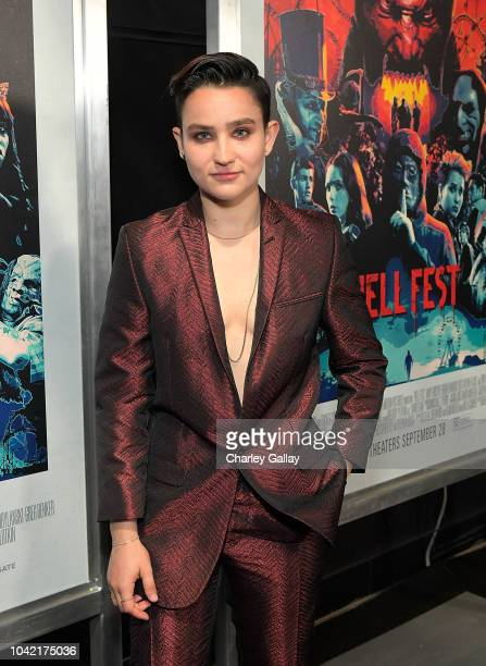 Bex TaylorKlaus attends the Opening Night Screening Of HELL FEST at the TCL Chinese 6 Theater on September 27 2018 in Hollywood California