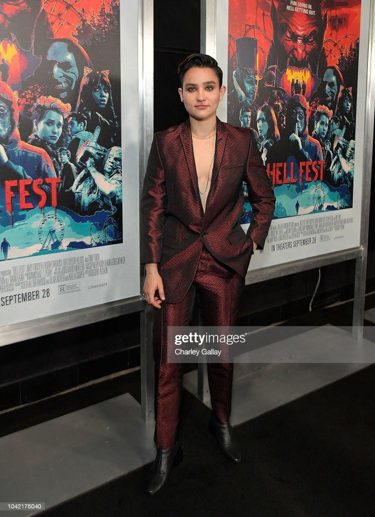 Opening Night Screening Of HELL FEST : News Photo