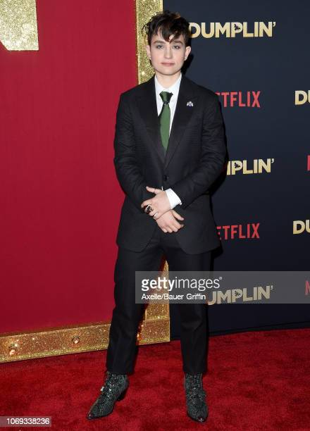 Bex TaylorKlaus attends the premiere of Netflix's 'Dumplin' at TCL Chinese 6 Theatres on December 6 2018 in Hollywood California