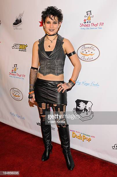 Bex TaylorKlaus attends The Shoe Crew Halloween Bash Charity Event at Rubix Hollywood on October 27 2012 in Hollywood California