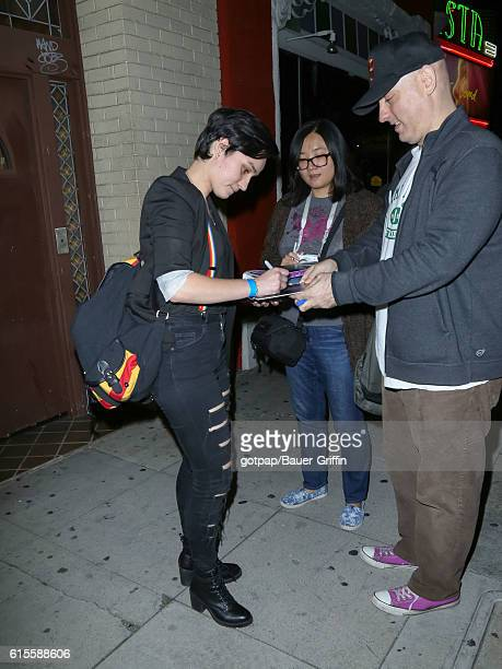 Bex TaylorKlaus is seen on October 18 2016 in Los Angeles California