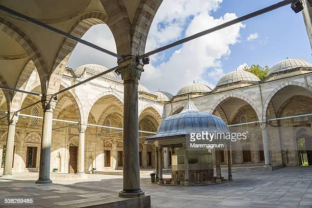 beyazit meydani mosque - istanbul stockfoto's en -beelden
