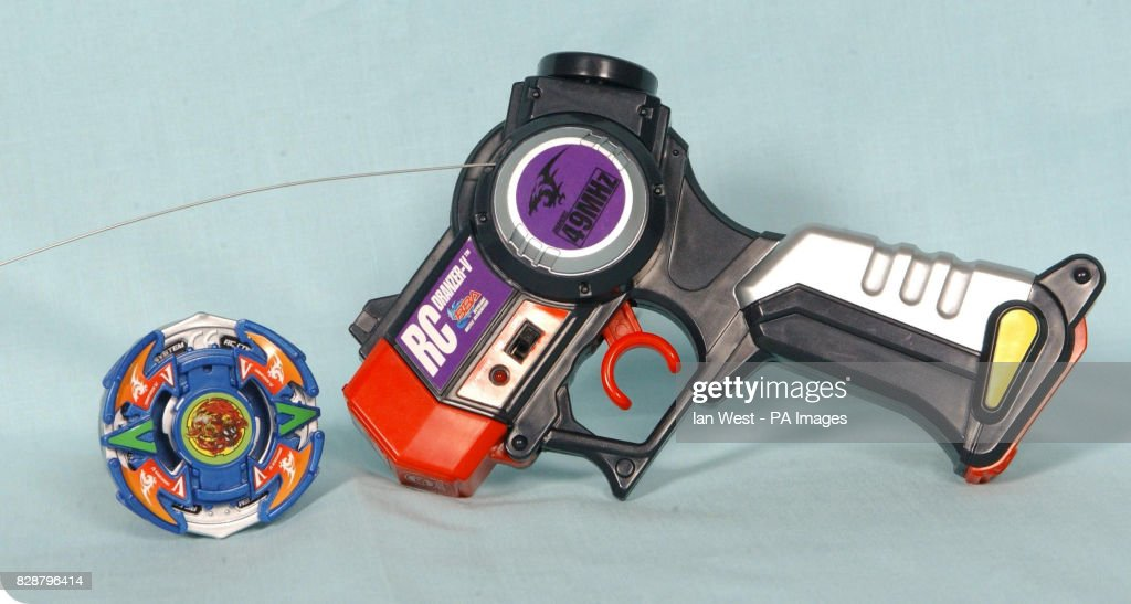 Beyblades, one of the top 10 toys children are expected to want for Christmas, on show at Dream Toys 2003. Teenage Mutant Ninja Turtles, one of the best-selling toys from the 1980s, are also set to make a Christmas comeback, experts said. * Toy shop bosses believe the fighting foursome will be among the top 10 presents children will be demanding this year. Another old-time favourite is Barbie through the sale of a 'Swan Lake' version of the doll, according to the British Association of Toy Retailers (BATR).