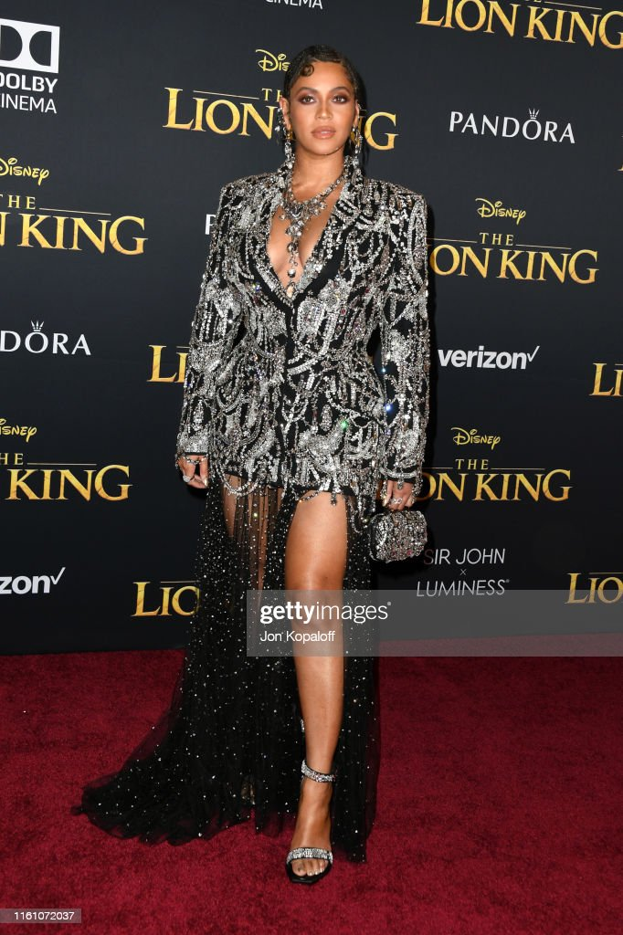 "Premiere Of Disney's ""The Lion King"" - Arrivals : News Photo"