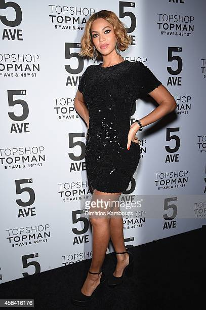 Beyonc Knowles attends the Topshop Topman New York City flagship opening dinner at Grand Central Terminal on November 4 2014 in New York City