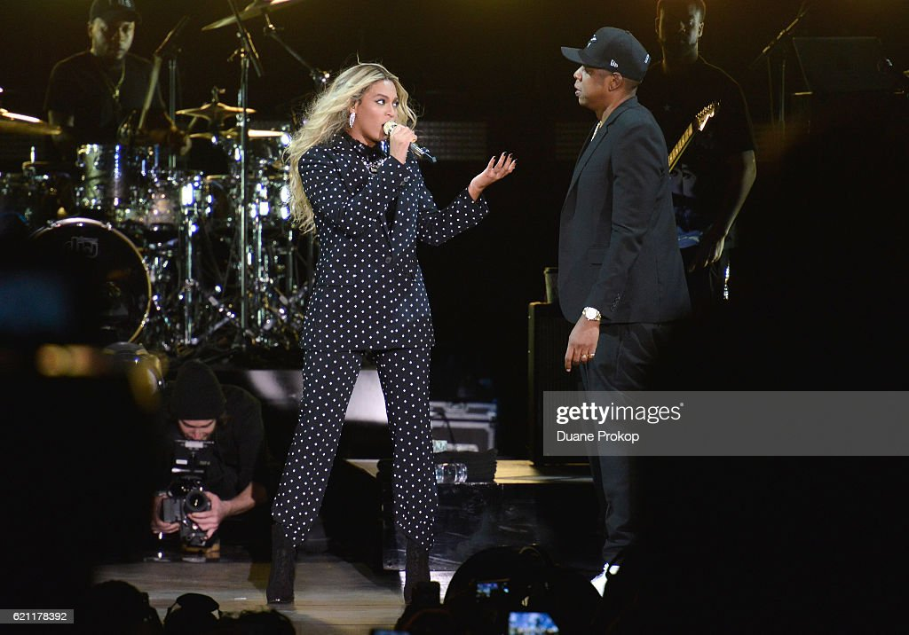 Jay Z Holds Get Out The Vote Concert In Support Of Hillary Clinton : News Photo