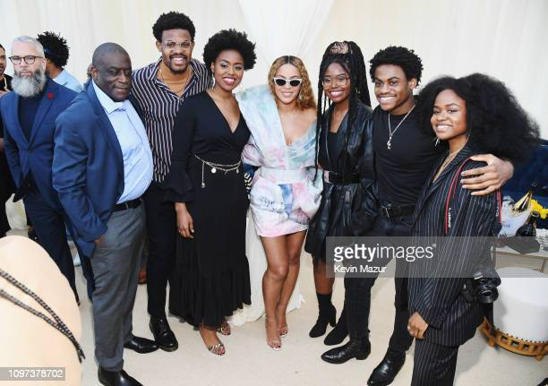 Beyonce and Infinity's Song attend 2019 Roc Nation THE BRUNCH on February 9 2019 in Los Angeles California