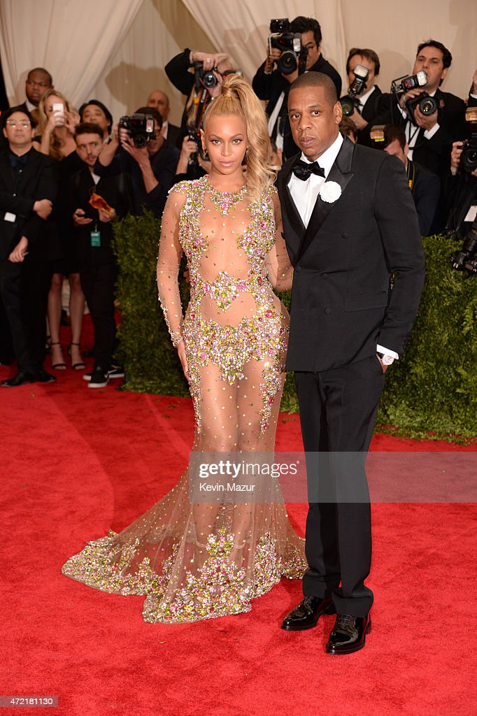 Beyonce and Jay-Z attend the 'China: Through The Looking Glass' Costume Institute Benefit Gala at Metropolitan Museum of Art on May 4, 2015 in New York City.
