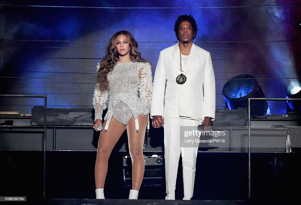 Beyonce And Jay-Z 'On The Run II' Tour - Los Angeles : News Photo