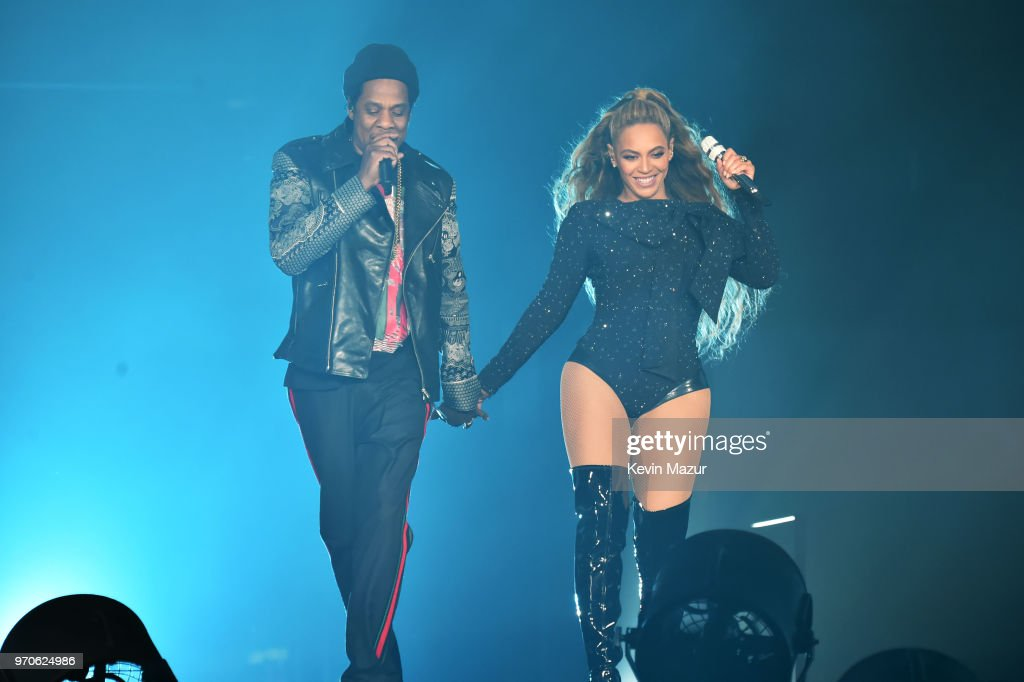 """Beyonce and Jay-Z """"On the Run II"""" Tour - Glasgow : News Photo"""