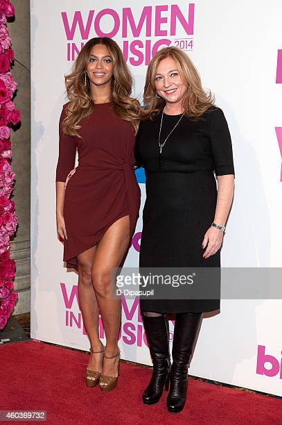 Beyonce and Lee Anne CallahanLongo General Manager of Parkwood Entertainment and of Billboard's Top 50 Women In Music this year attend the 2014...