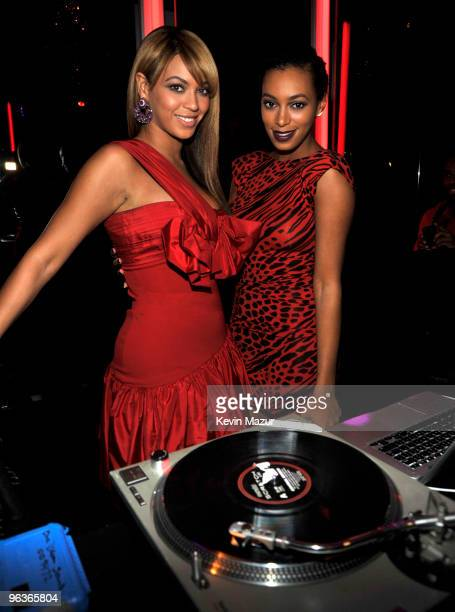 *EXCLUSIVE* Beyonce and Solange Knowles attends Beyonce's First Fragrance Launch After Party for 'Beyonce Heat' Catch the Fever at 15 Union Square...