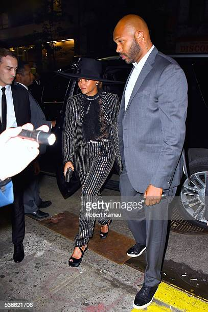 Beyonce arrives at the Hammerstein Ballroon for the 2016 CFDA Awards on June 6, 2016 in New York City.