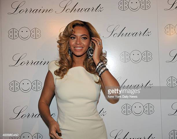 Beyonce at the Lorraine Schwartz 2BHAPPY Launch Event held at Lavo