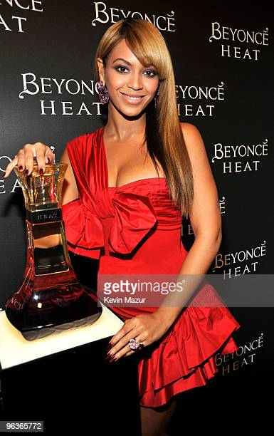*EXCLUSIVE* Beyonce attends Beyonce's First Fragrance Launch After Party for Beyonce Heat Catch the Fever at 15 Union Square West on February 2 2010...
