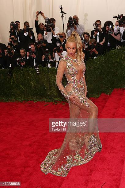 Beyonce attends 'China Through the Looking Glass' the 2015 Costume Institute Gala at Metropolitan Museum of Art on May 4 2015 in New York City
