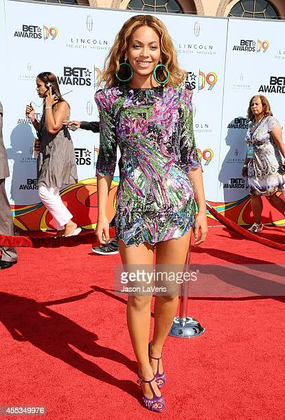 Beyonce attends the 2009 BET Awards at The Shrine Auditorium on June 28 2009 in Los Angeles California