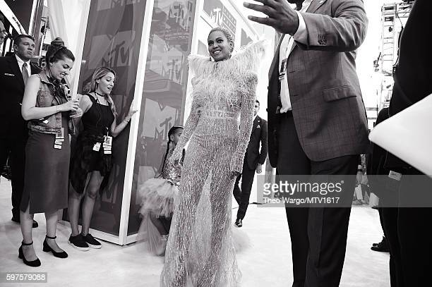 Beyonce attends the 2016 MTV Video Music Awards at Madison Square Garden on August 28 2016 in New York City