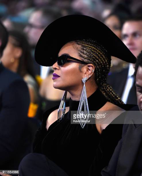 9306591c8b Beyonce attends the 60th Annual GRAMMY Awards at Madison Square Garden on January  28 2018 in