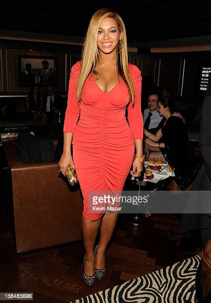 Beyonce attends the after party following JayZ's concert at Carnegie Hall to benefit The United Way Of New York City and the Shawn Carter Foundation...