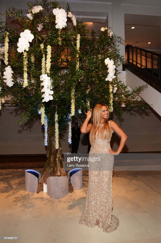 Beyonce attends the after party following the premiere of the HBO Documentary Film 'Beyonce: Life Is But A Dream' at Christie's on February 12, 2013 in New York City.