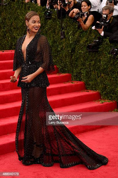 Beyonce attends the Charles James Beyond Fashion Costume Institute Gala at the Metropolitan Museum of Art on May 5 2014 in New York City