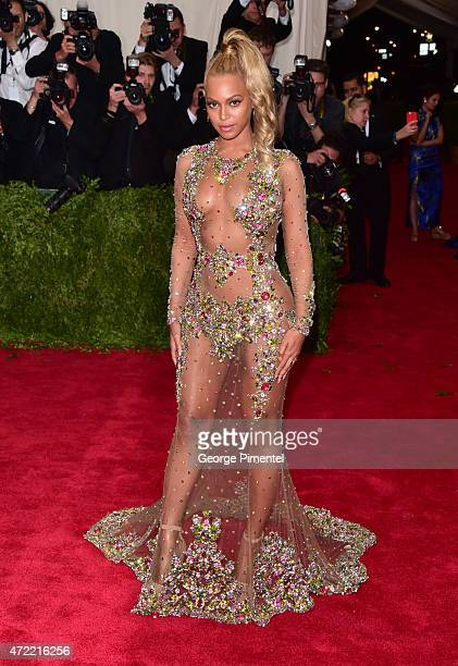 Beyonce attends the 'China: Through The Looking Glass' Costume Institute Benefit Gala at Metropolitan Museum of Art on May 4, 2015 in New York City.