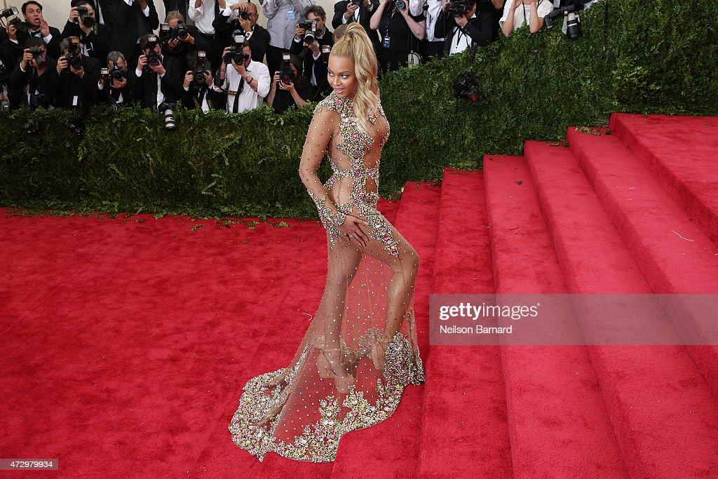 Beyonce At Costume Institute Benefit Gala : Nachrichtenfoto