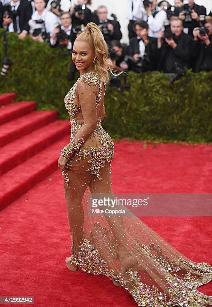 Beyonce attends the China Through The Looking Glass Costume Institute Benefit Gala at the Metropolitan Museum of Art on May 4 2015 in New York City