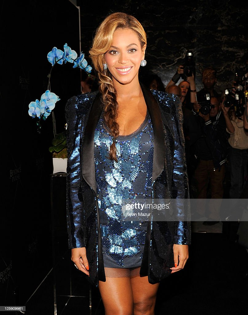 Beyonce attends the launch of her new fragrance PULSE at Dream Downtown on September 21, 2011 in New York City.