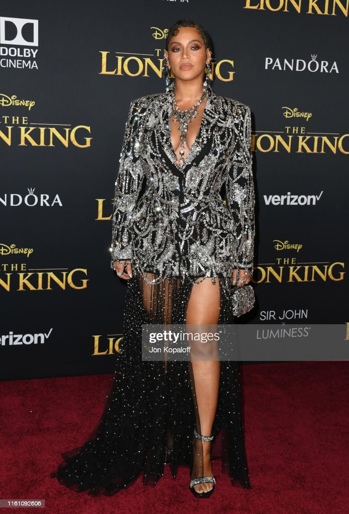 "Premiere Of Disney's ""The Lion King"" - Arrivals : News Photo"