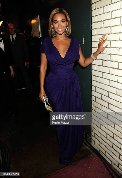 EXCLUSIVE COVERAGE PREMIUM RATES APPLY NO NORTH AMERICAN USAGE FOR 90 DAYS Beyonce backstage at the 64th Annual Tony Awards at Radio City Music Hall...