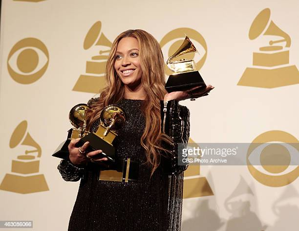 Beyonce backstage during The 57th Annual Grammy Awards Sunday Feb 8 2015 at STAPLES Center in Los Angeles and broadcast on the CBS Television Network