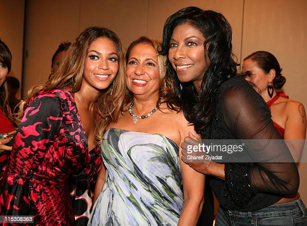 Beyonce Cathy Hughes Chairman of Radio One and Natalie Cole