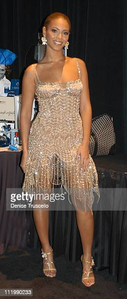 Beyonce during 2003 Billboard Music Awards Backstage Creations Gift Retreat Day 2 at MGM Grand Hotel And Casino Resort in Las Vegas Nevada