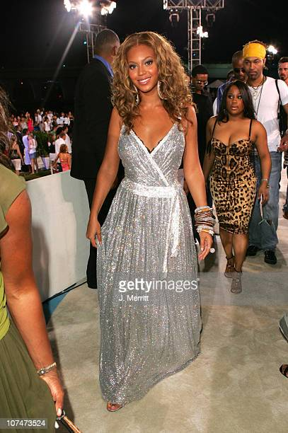 Beyonce during 2005 MTV Video Music Awards MTV News Platform Arrivals at American Airlines Arena in Miami Florida United States
